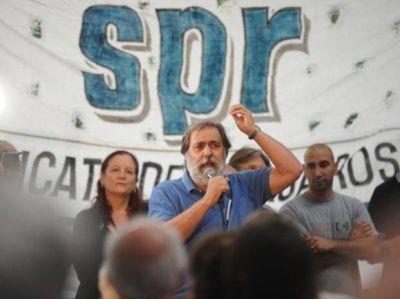 El Sindicato de Prensa repudió las narcoamenazas en un acto frente a Gobernación