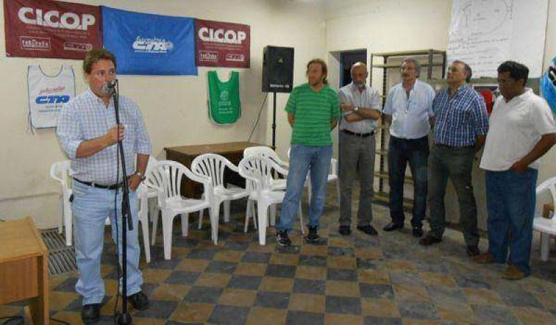 Fernando Bojorge asumió al frente de la CTA Autónoma