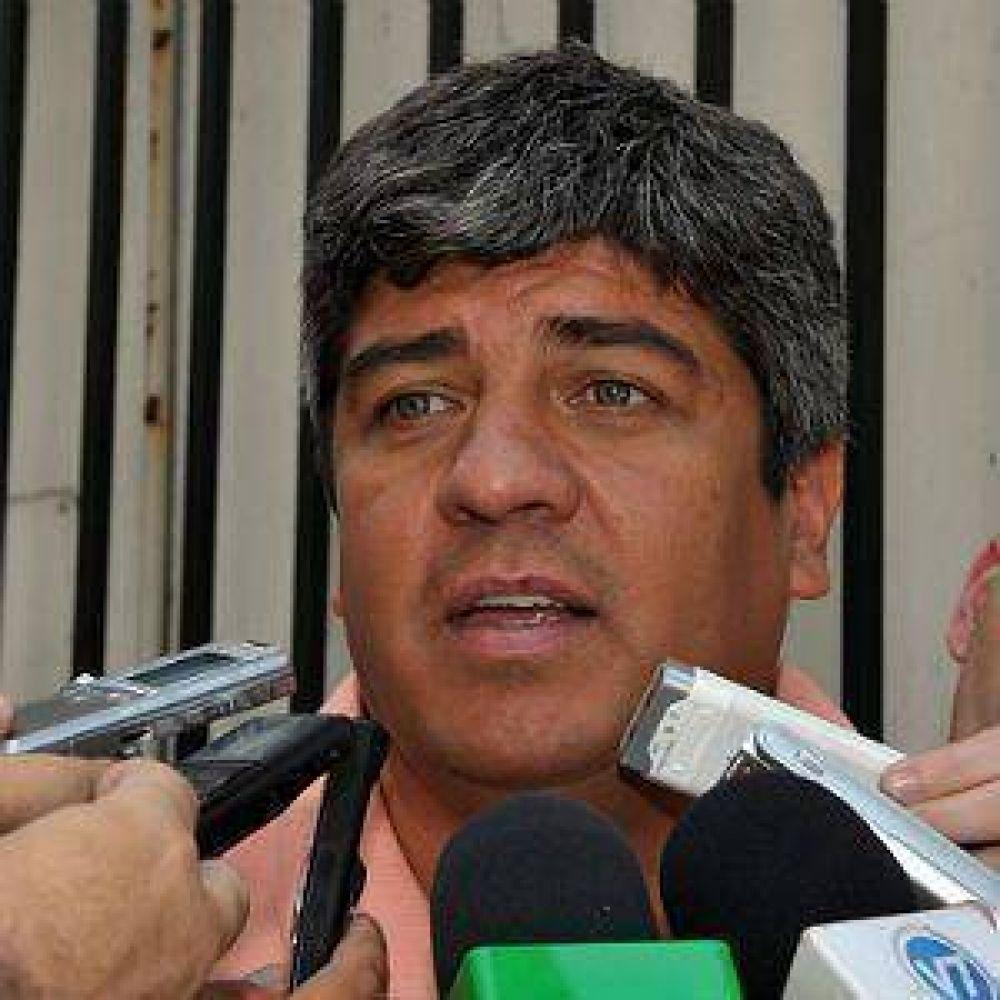 Pablo Moyano descarta unir CGT y advierte por paro