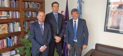 Equipo sciolista se reunió con Francisco Tamarit
