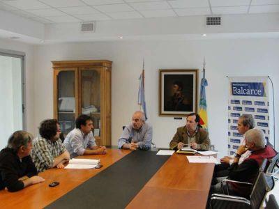 Echeverría recibió a concejales para analizar ordenanza referida a la administración del autódromo