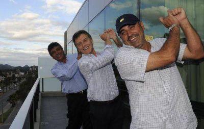 Macri, el Gato, el Pato y Lábaque, de campaña en Carlos Paz
