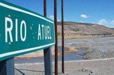 Malargüe sale a reclamar el agua del Atuel