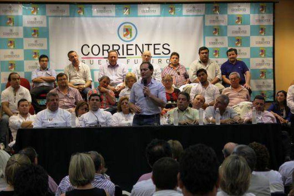 Con líderes territoriales del PJ, Camau lanzó Corrientes Sueña Futuro
