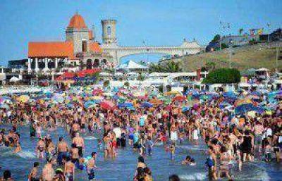 La Costa Atlántica fue uno de los principales destinos, con 130 mil turistas en Mar del Plata