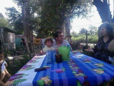 Cachorro Godoy recorri� los barrios Marplatenses