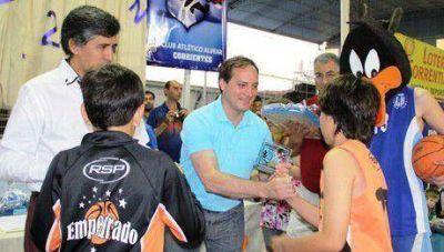 Camau: El deporte es una herramienta válida para crecer como personas