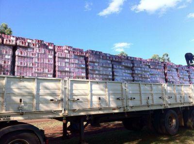 Evasión fiscal: Incautan mercadería valuadas en 2 millones de pesos