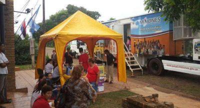Se realiza un operativo de salud en San Martín