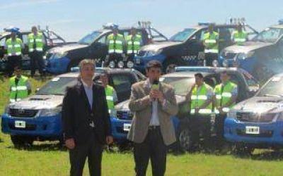 Vicente López: Jorge Macri presentó nuevos vehículos para la Patrulla Comunal