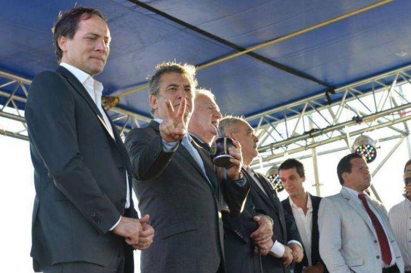 Urribarri compartió con Cristina la inauguración del último tramo de la autovía de la ruta 14
