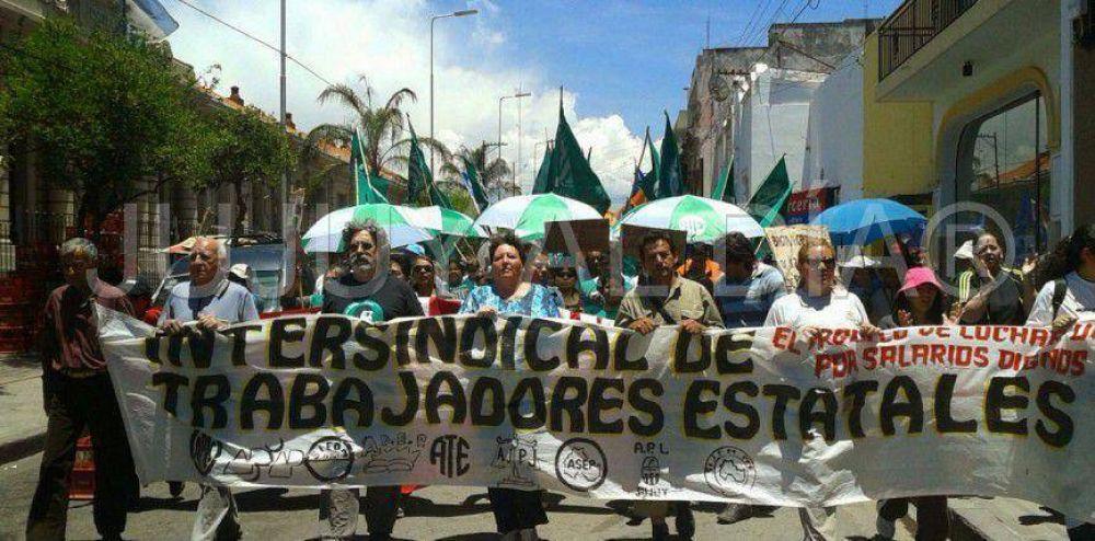 Crisis institucional en Jujuy: nuevo paro de la Intersindical ante la falta de respuestas del gobierno de Fellner