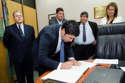Calderaro asumió en el Consejo de la Magistratura
