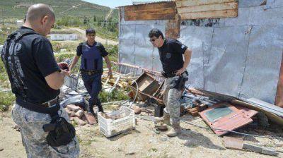 Hallaron una granada lista para detonar en la ex Radio Estación