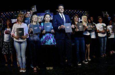 Sciutto participó, junto a Massa,de la presentación del nuevo Código Procesal Penal