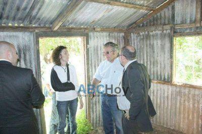 """La justicia realizó una inspección ocular al ex CCD """"La Huerta"""""""