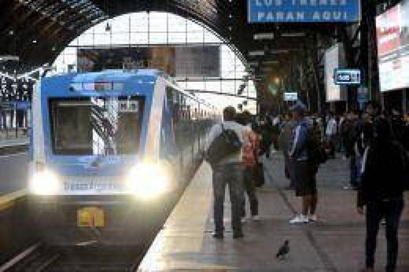 Los metrodelegados y la Uni�n Ferroviaria se despegaron del paro de ma�ana