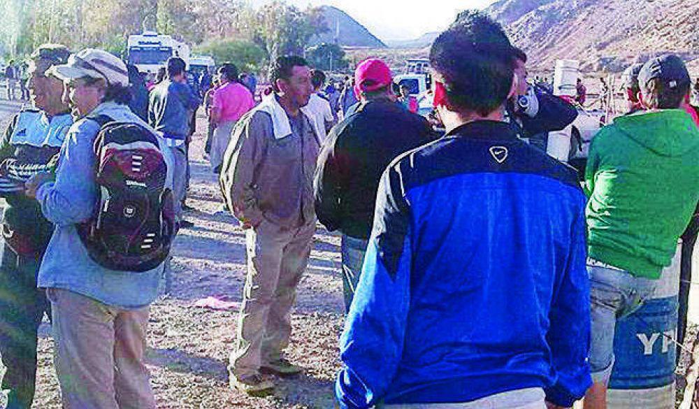 Obreros de la construcción cortaron la ruta 12 por trabajo