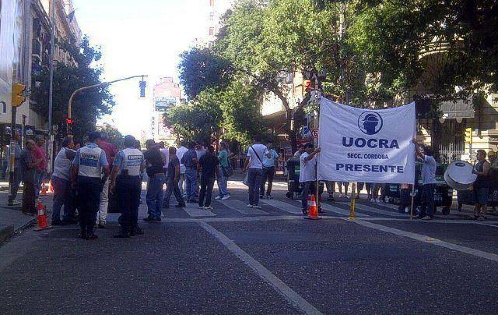 Uocra Córdoba acordó un bono de fin de año de 1.500 pesos