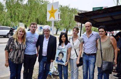 Andreotti acompañó a 'Madres del Dolor' con sus 'estrellas viales'