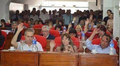 Aprobaron el Presupuesto 2015 en San Martín
