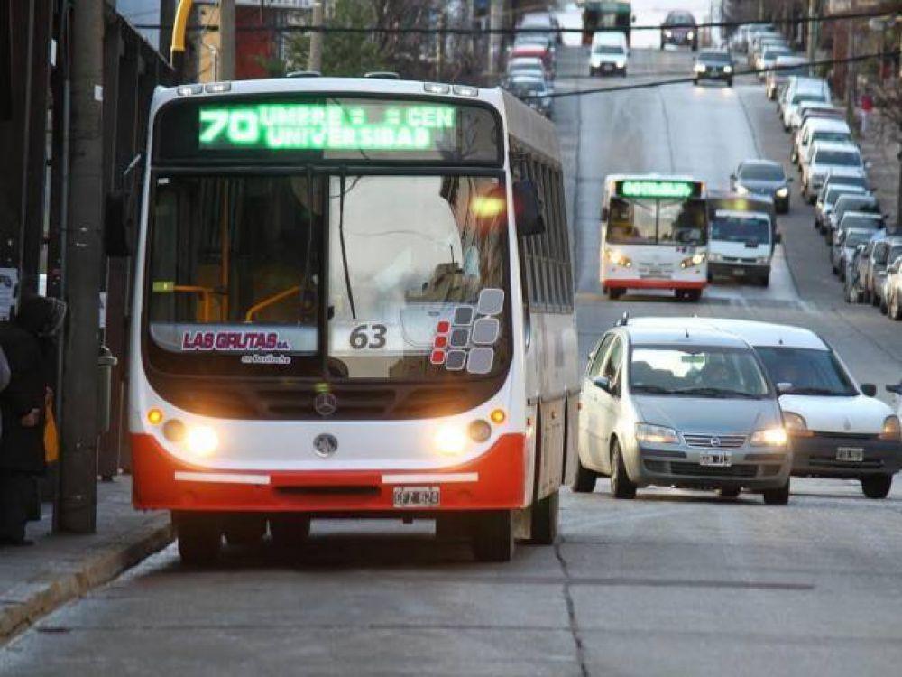 No habrá transporte público a primera hora de la mañana