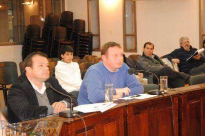 Proyectos presentados por los concejales del FR en la última sesión del HCD