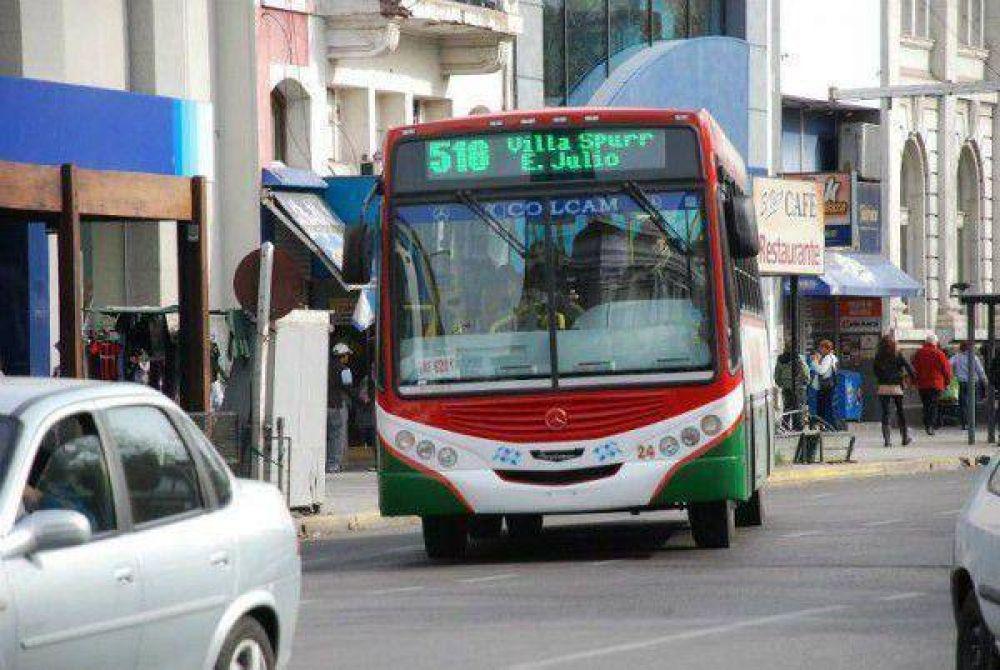 El paro de transporte en Bahía Blanca sera de 8.30 a 11:
