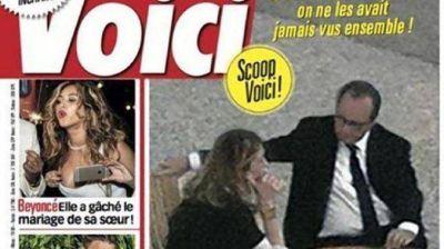Escándalo en Francia por fotos del presidente junto a su amante