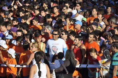 """El Envión de Roque Pérez y Carlos Beguerie presente en la """"Maratón Corré con Envión"""""""