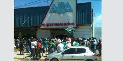 Por presión de camioneros, APA debió cerrar sus puertas