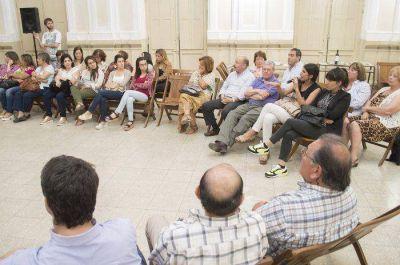 Se realizó la reunión anual de la ONG Azul Solidario