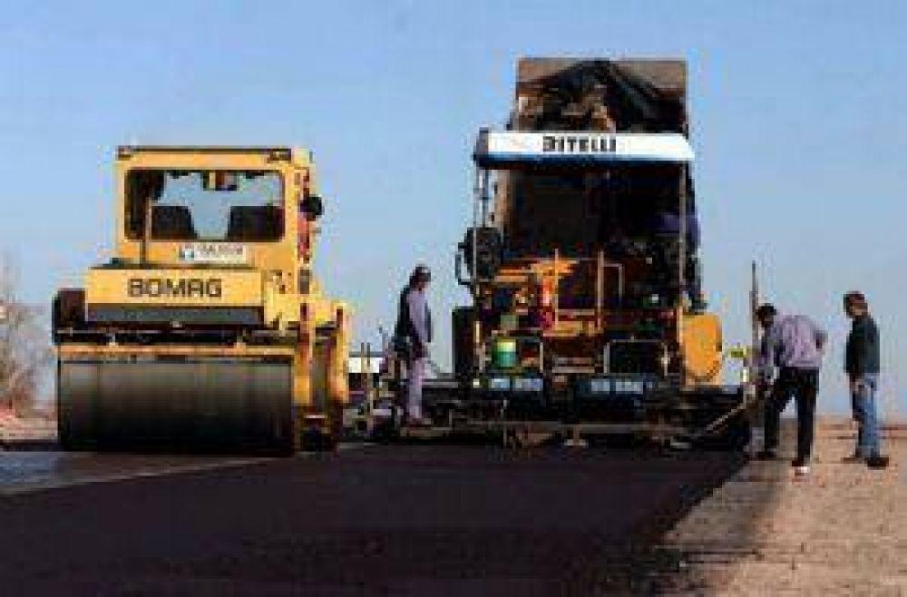 En Infraestructura afirman que la obra pública se mantiene