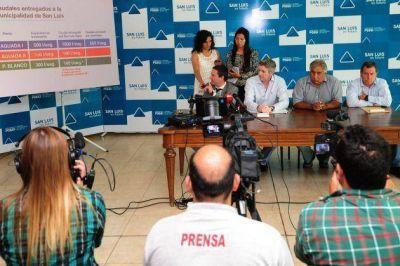 Presentaron el esquema de provisión de agua cruda a plantas potabilizadoras de San Luis
