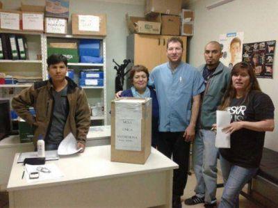 A trav�s de elecciones normalizan servicio de enfermer�a Hospital de R�o Turbio