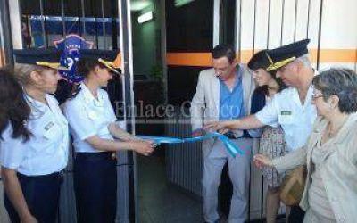 Zárate: Cáffaro inauguró la Comisaría de la Mujer y la Familia