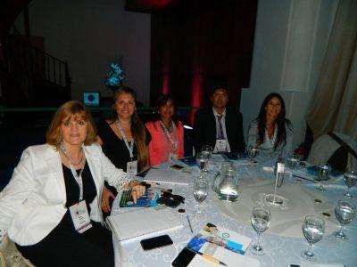Obras Sanitarias participó junto a operadores de agua y saneamiento de encuentro Latinoamericano