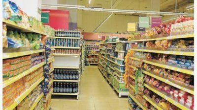 Según un estudio privado, ventas en supermercados cayeron 1,5% en el tercer trimestre