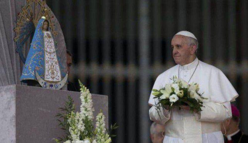 La Virgen bendecida por el Papa llega a Tres Arroyos