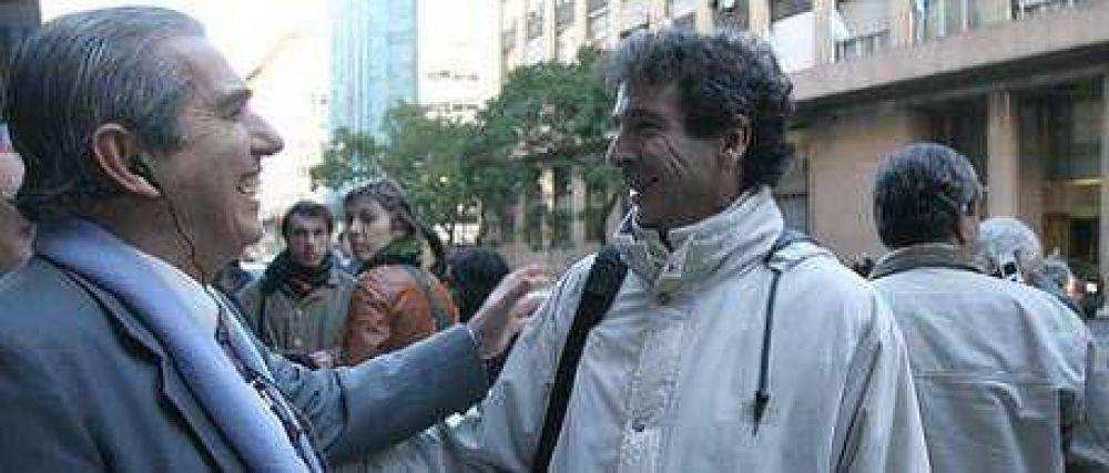 Fracasó la marcha de apoyo a Guillermo Moreno
