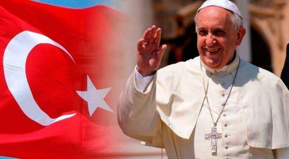 Declaración de Francisco en Turquía