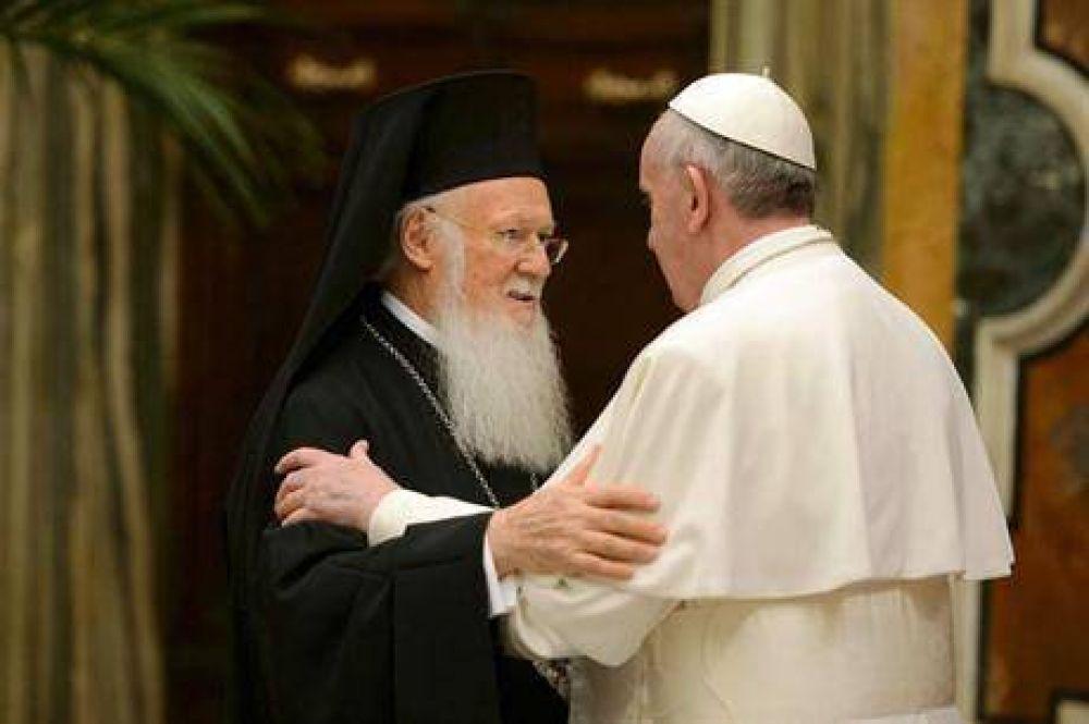 El papa Francisco llamó a la reconciliación con la Iglesia Ortodoxa