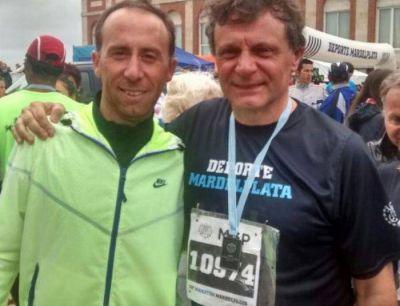 """Gustavo Pulti: """"El Maratón de Mar del Plata representa el esfuerzo que hace todos los días cada marplatense"""""""