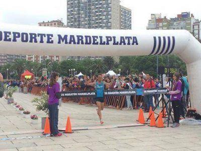 Maratón: Mastromarino y Peralta ganaron los 21K