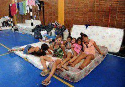 Hay 50 evacuados por las lluvias en la provincia de Buenos Aires