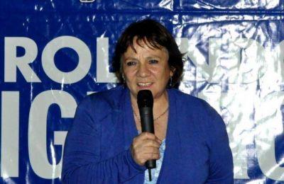 Brunilda Rebolledo es la candidata a intendente en San Martín de los Andes
