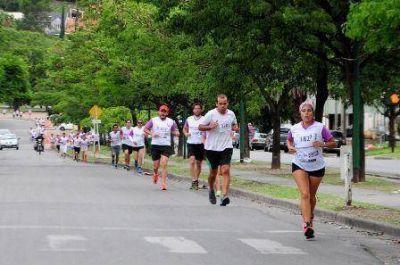 Se realizó una maratón para concientizar sobre la violencia de género