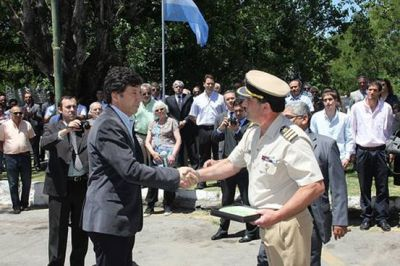 Aníbal Moya asumió como jefe de la Prefectura de San Isidro