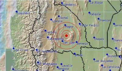 En menos de tres horas se registraron varios sismos mayores a los 3º