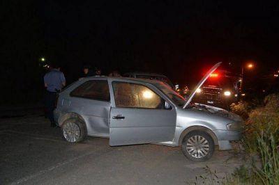 Joven en estado de ebriedad hospitalizado tras volcar su auto